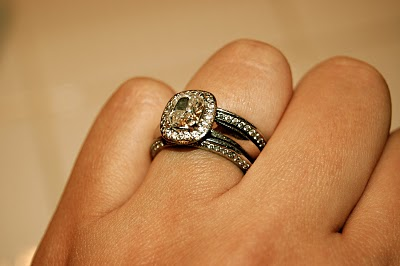 Vera Wang Ct White Gold  Ct Diamond Double Halo Ring
