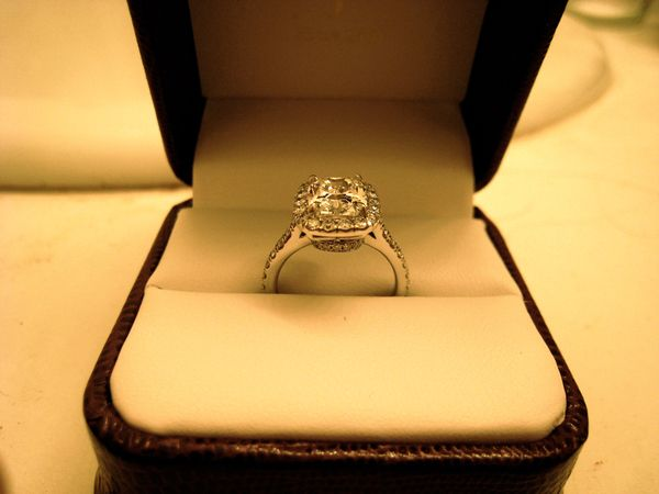 Carat Round Solitaire Diamond Ring