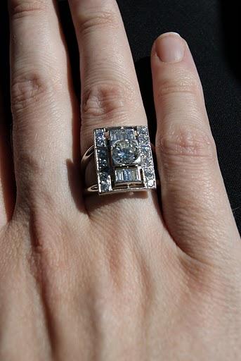 Multi Stone Diamond Heirloom Ring RingSpotters