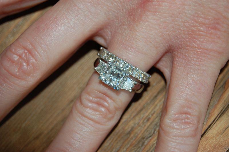 Stone Diamond Eternity Ring