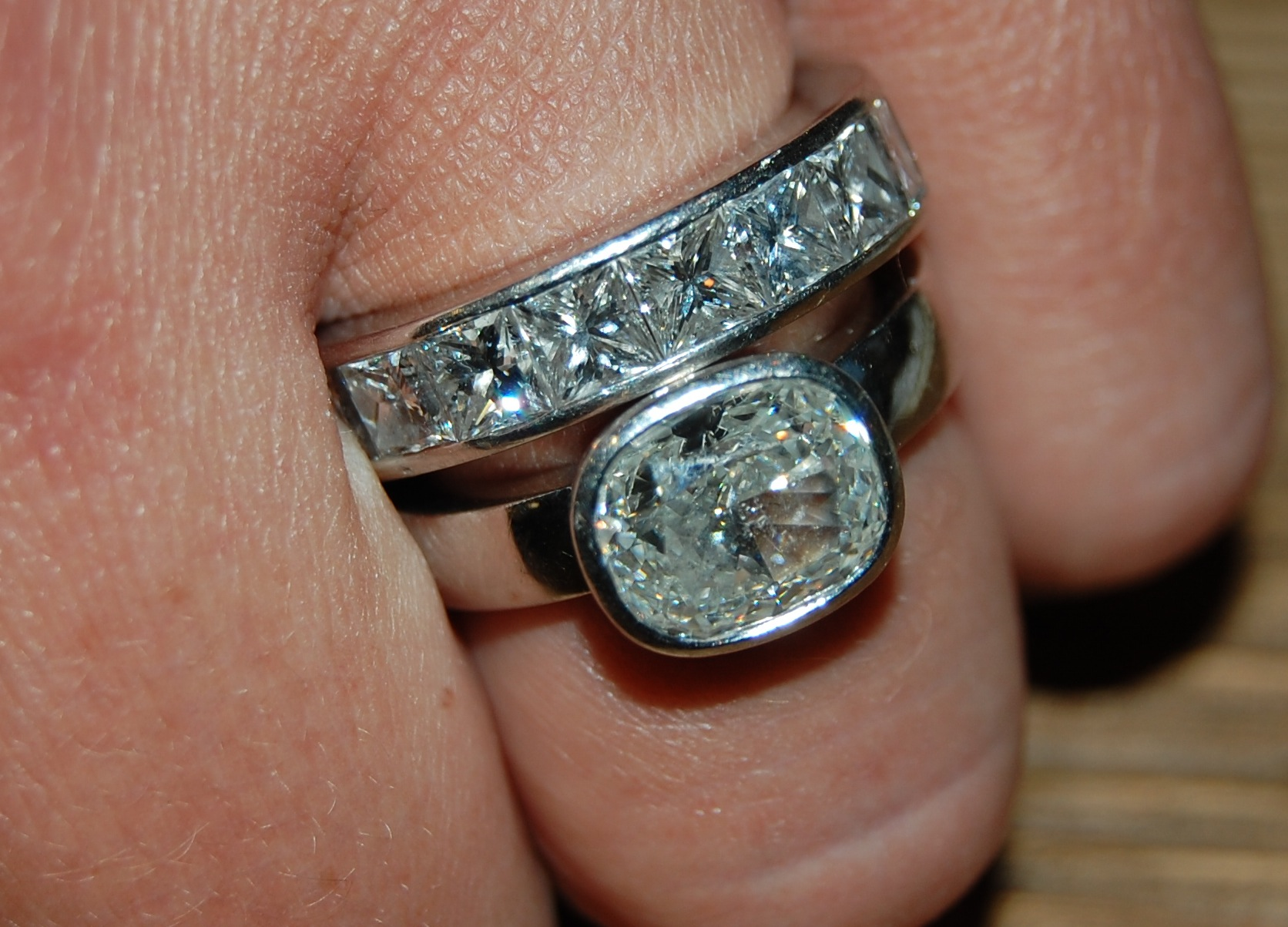 bar band diamond bands by view set gold or wedding stone engagement year diamonds tw rings and round anniversary