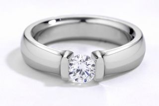 Tension-mount-engagement-ring