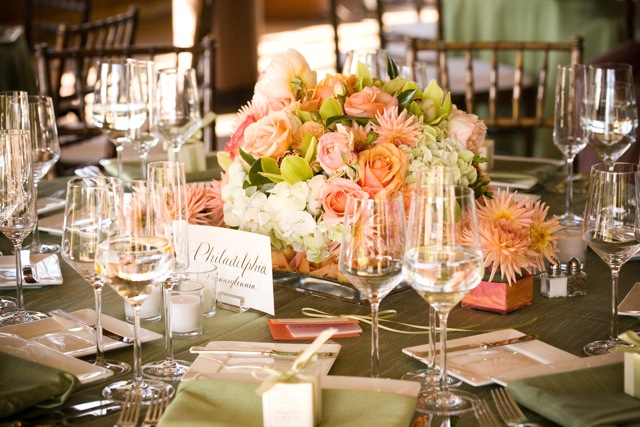 wedding decor, santa barbara wedding