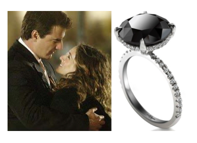 Black Diamond Engagement Rings In Canada
