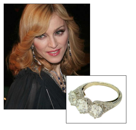 Madonna Engagement Ring