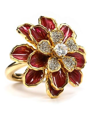 Valentine's Day Gift Idea Juicy Couture Flower Ring